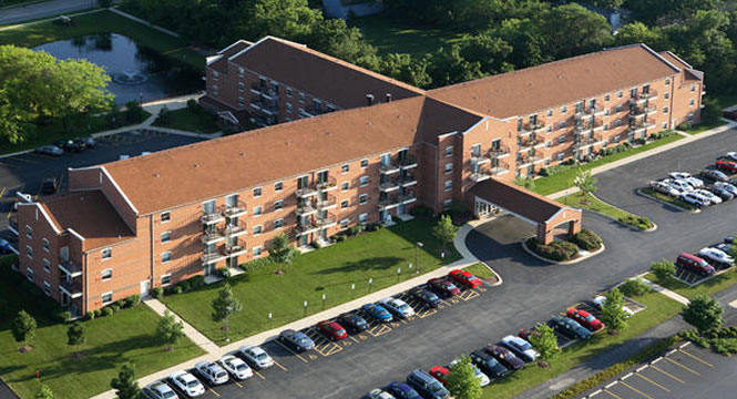 Library Lane Senior Residences in Grayslake Illinois